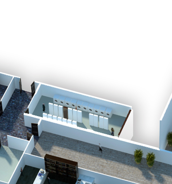 Laundry, storehouse