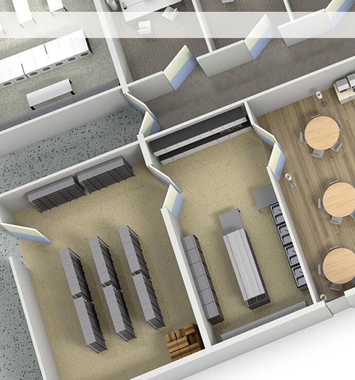 Kitchen, wet areas