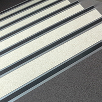 Aluminium stair nosing T67 ALU